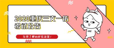 2020重庆三支一扶考试