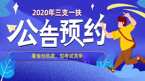 2020年辽宁三支一扶公告预约