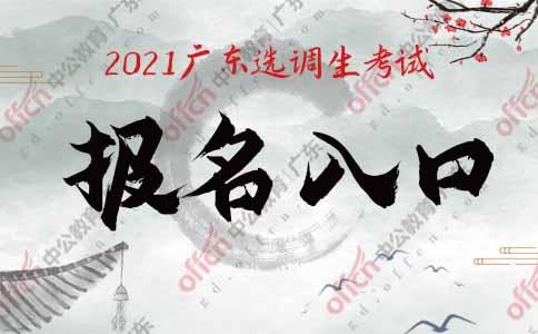 广东省2021年度选调生招录系统(考试报名)